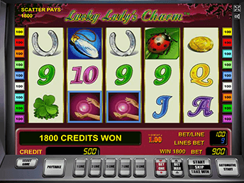 Игровые аппараты Lucky Lady's Charm