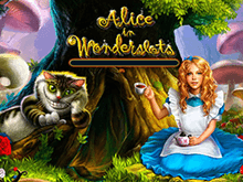 Игровые аппараты в онлайн казино: Alice In Wonderland